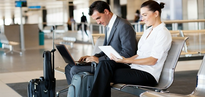 How to improve cyber security during business travel