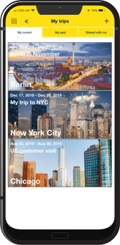 Travel Itinerary App