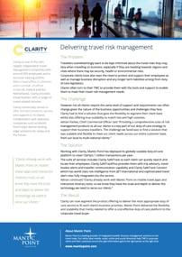 Clarity Risk Management Case Study