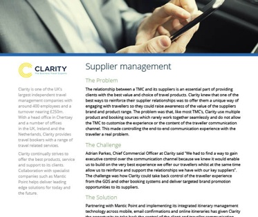 clarity-supplier-management