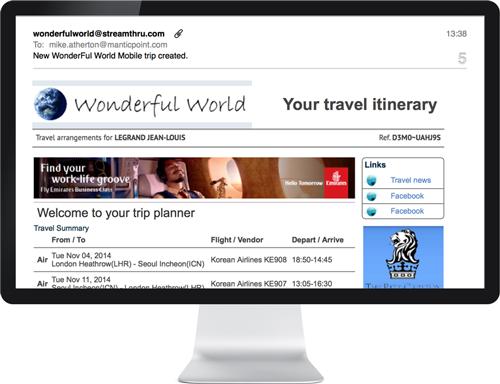 Merchandising platform to increase travel revenues
