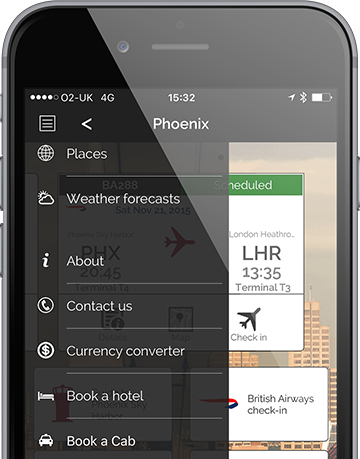 White label applications for travel management