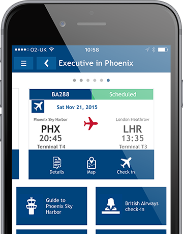 Travel apps and software from travel management experts